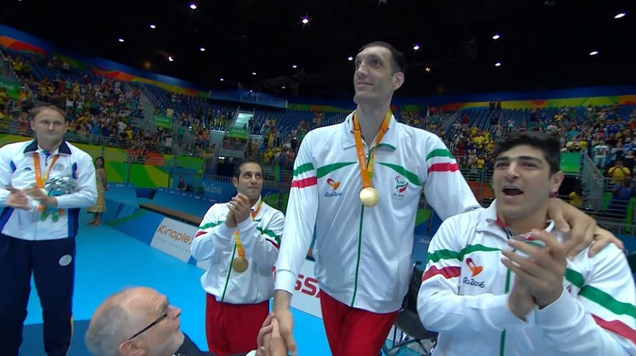 Morteza Mehzard - third world's tallest person