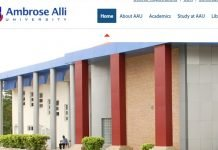 Oasdom Ambrose Alli University courses and programmes
