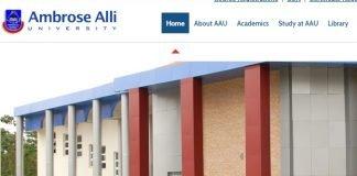 Ambrose Alli University courses and programmes