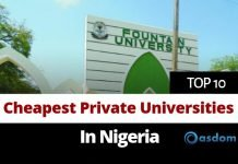 List of top 10 cheapest private Universities in Nigeria and their fees today