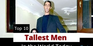 Top 10 tallest man in the world height - tallest living man today