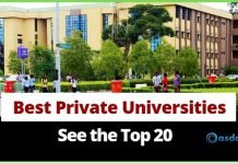 Oasdom top 20 best private university in Nigeria and their location