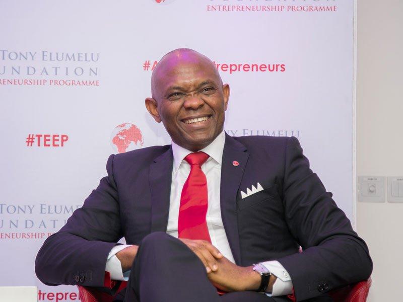 Tony Elumelu - rich nigerian billionaire