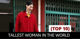 Top 10 tallest woman in the world living