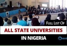 Full-list-of-state-universities-in-Nigeria-and-their-courses-and-location