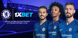 1xbet company teams up with Chelsea FC