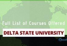 Delta State University DELSU courses DELTA Portal Abraka