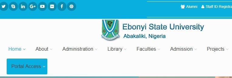 Ebonyi state university - EBSU Portal