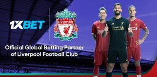 Liver partners with 1xbet today