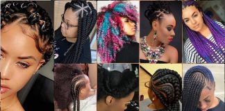 Latest Hairstyles in Nigeria Pictures - Braids - fixing - ghana weaving