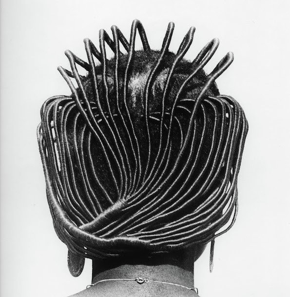 traditional rubber hair style in Nigeria