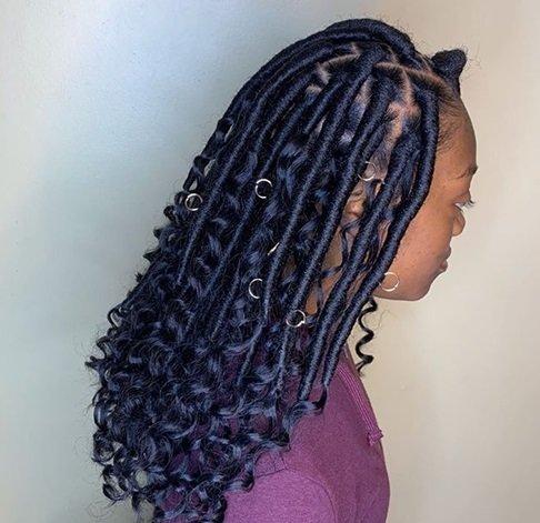 Rubber brazillian hairstyles