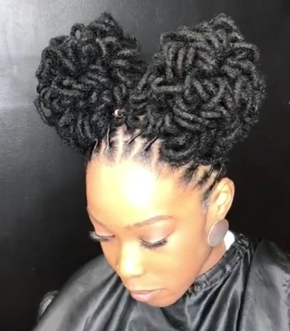 curly fixing layered hair