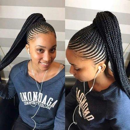 latest weaves hairstyles - ghana weaving in Nigeria