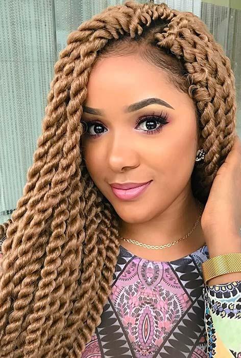 Classic twist - Nigerian hair style braids