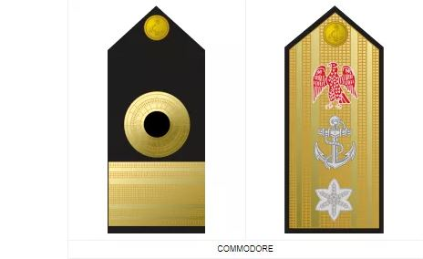 Commodore nigerian navy ranks and symbol
