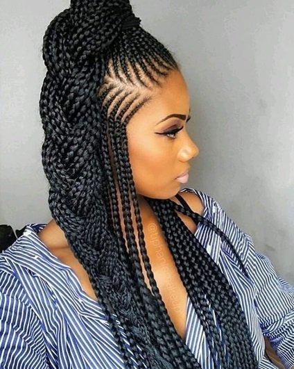 Ghana weaving hair styles