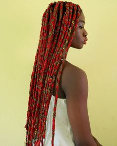 Innovative ankara braids in Nigeria