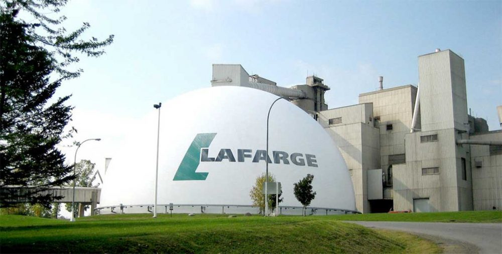 Lafarge cement company