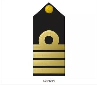 Navy captain badge
