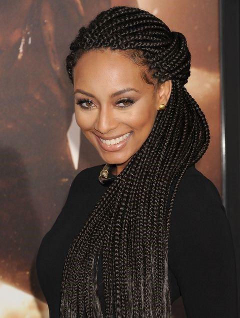 Nigerian braids style
