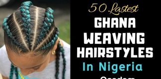 Oasdom 50 Latest ghana weaving hairstyles in Nigeria pictures