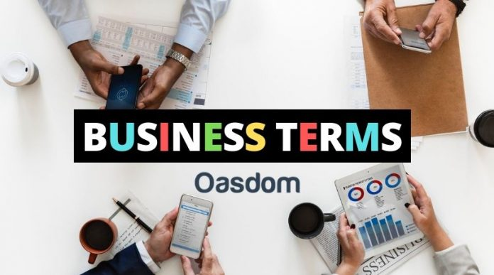 Oasdom Business Terms A to Z The Business glossary