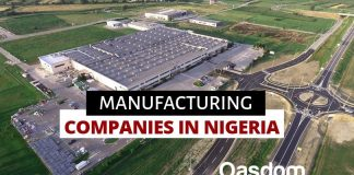Full list of manufacturing companies in Nigeria