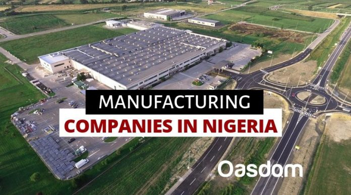 Oasdom Full list of manufacturing companies in Nigeria