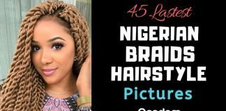 Latest Picture of Nigerian Braids Hairstyles Gallery