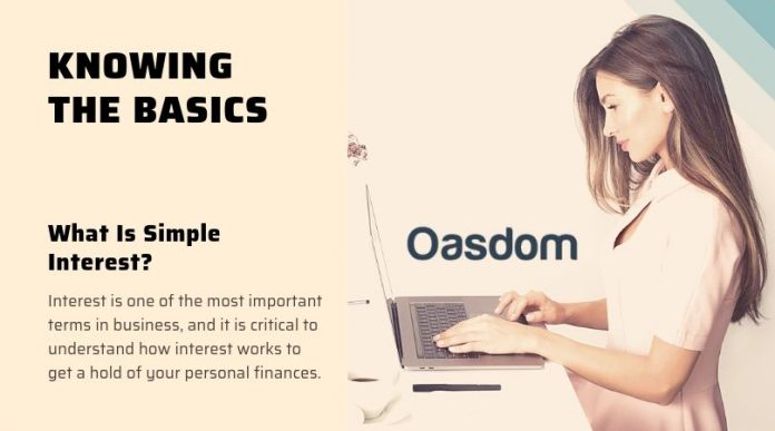 Oasdom What is simple interest definition and meaning 1