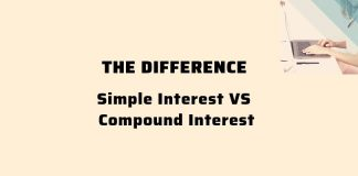 the difference between simple interest and compound interest rate
