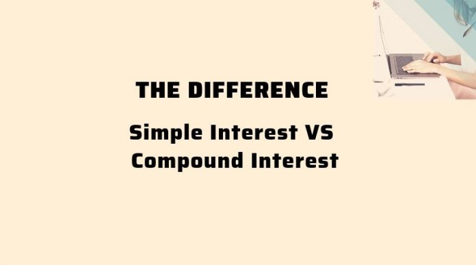 Oasdom the difference between simple interest and compound interest rate