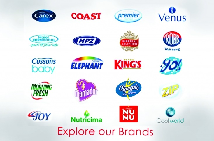 PZ cussons products