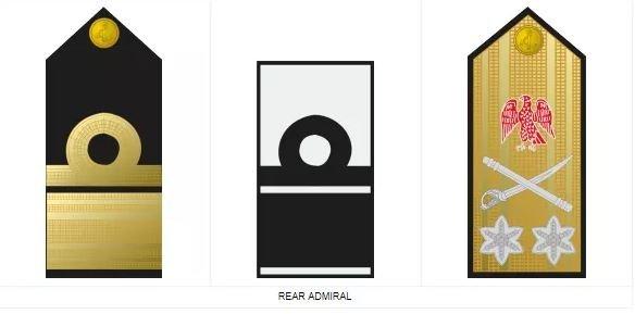 Royal navy seals - rear admiral