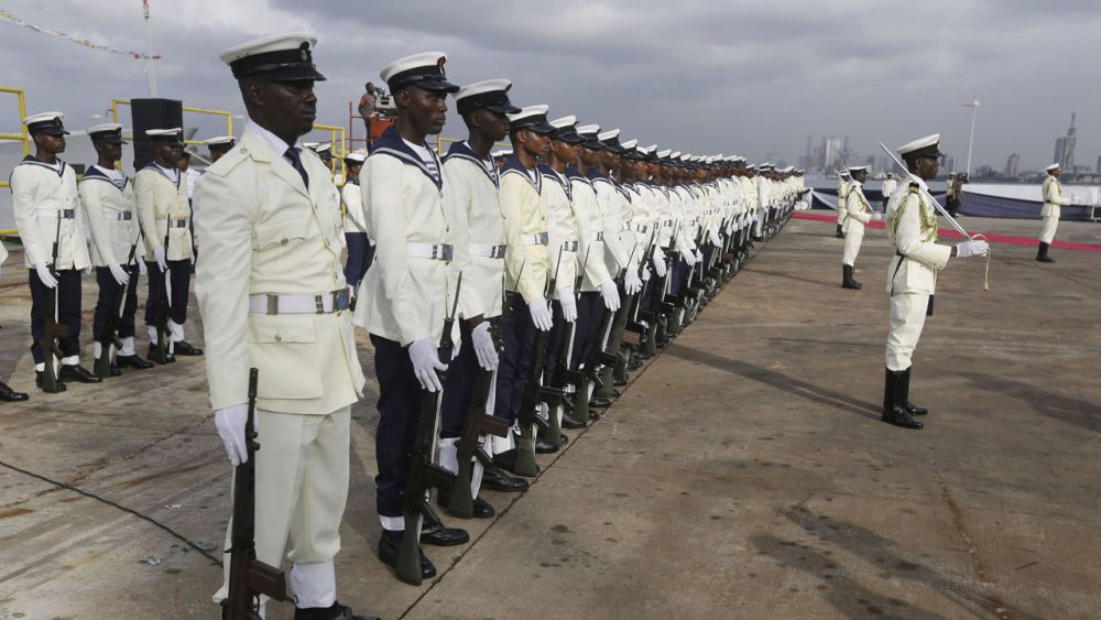 Picture of The Nigerian navy ranks from lowest to highest