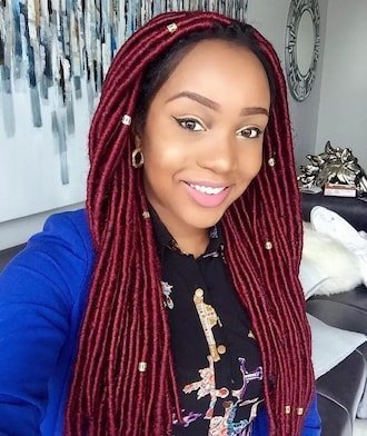WOOL BRAID ghana weaving hairstyles