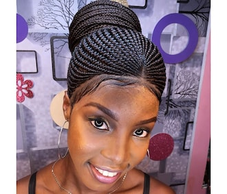 cheroke cornrows latest ghana weaving hairstyles in Nigeria