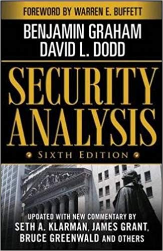 security analysis investing books