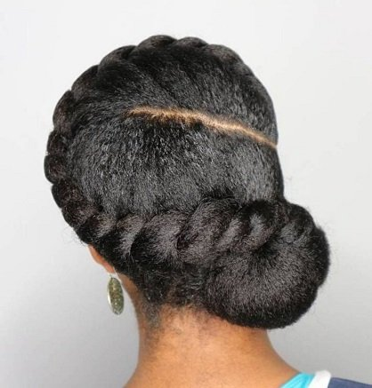 short virgin weave style