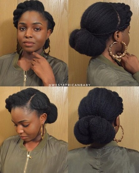 teenage virgin hair style