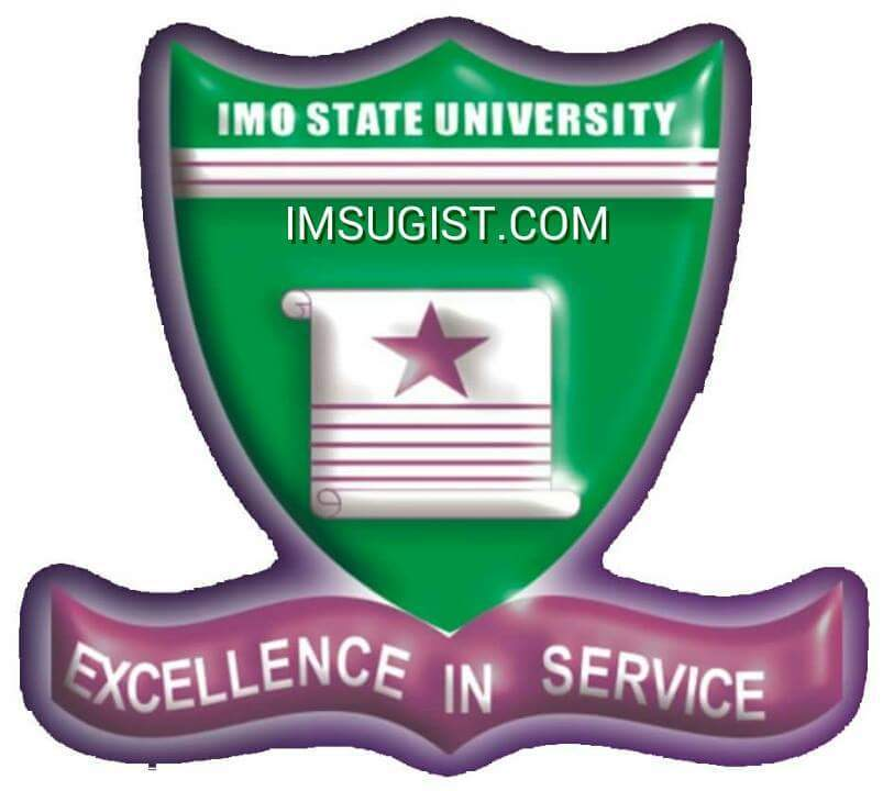 Imo state university courses and logo