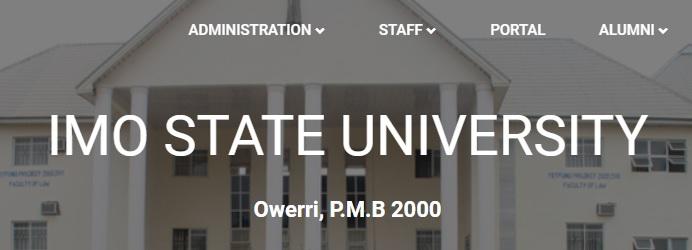 Imo state university portal