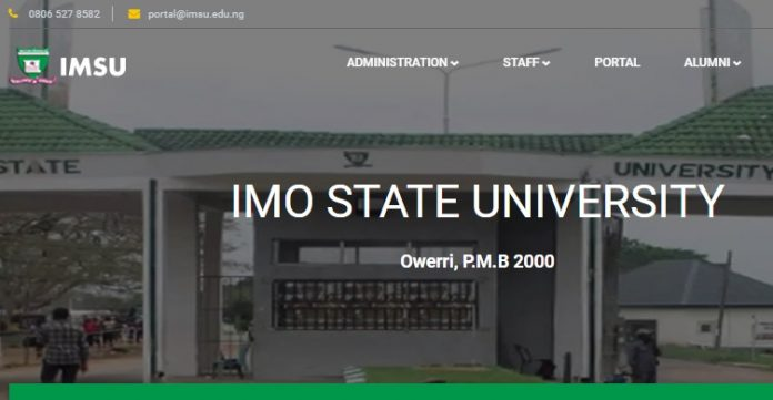 List of imo state university courses and programmes