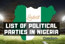 Full list of political parties in Nigeria and their logo
