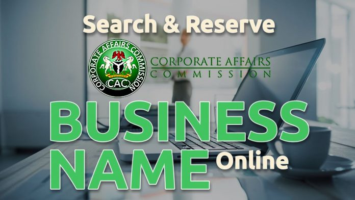 how to register a business with CAC