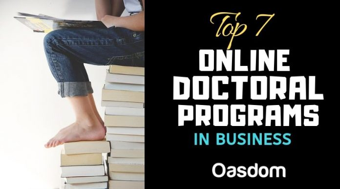 Oasdom Top online doctoral programs in business today