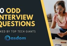 10 Odd interview questions asked by top tech giants