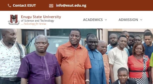 Enugu state university courses
