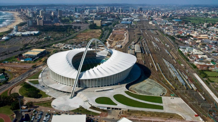 Moses Mabhida Stadium - Best stadiums in Africa
